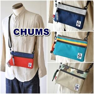 チャムス  CHUMS  サコッシュバッグ  ディストリビュート ショルダー  スウェット  ナイロン  Distribute Shoulder Sweat Nylon  [CH60-2927 SS20]