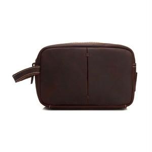Leather Bag Vintage Bag Zipper レザー 天然 ビンテージ (YYB99-1833230)