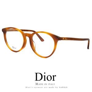 Dior メガネ montaigne53f-sx7 眼鏡 ディオール Christian Dior ボストン ラウンド 丸メガネ