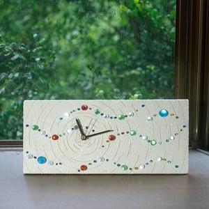 星空時計 (置時計、壁掛け時計、兼用) -6
