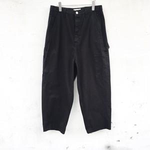 JieDa wide painter pants BLACK