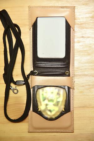 『受注生産』 警察手帳カバー 本革 レザー お好きな革を選べます