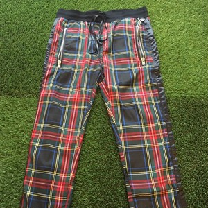 【MNML】 -ミニマル-PLAID TRACK PANTS
