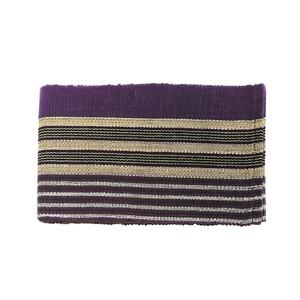 ヨルバの伝統布「アショ・オケ」の半巾帯8 / Yoruba Aso-oke Obi8