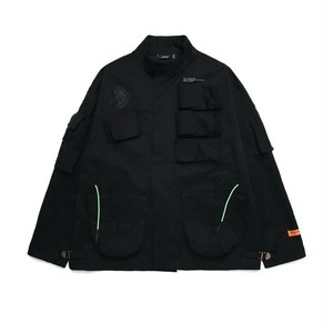 MIL MULTI POCKET JACKET / BLACK