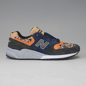 NEW BALANCE M999NI ニューバランス MADE IN U.S.A. グリーン/ブルー/カモ
