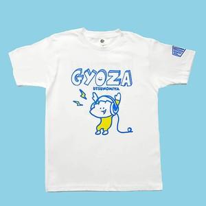 Tシャツ レコード GYOZA ホワイト