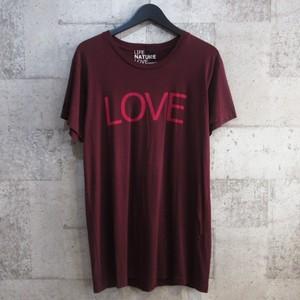 FREE CITY LOVE プリントTシャツ ※木村拓哉さん着用 同型同色