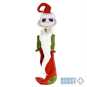 ディズニーストア ナイトメアービフォアクリスマス ジャック 壁掛け ぬいぐるみバッグ