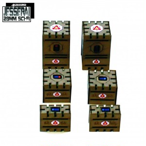 【予約発注】 Non-Hazardous Goods Crates 28S-TAO-130
