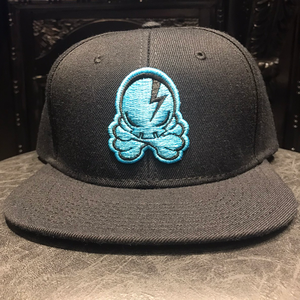 OCTOPUS SKULL CAP (Black×Blue)