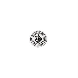 HARD LUCK - THE FINGER STICKER (White) 31mm