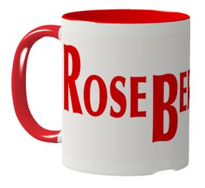 ロズベリーカフェ大ロゴマグカップ(赤)