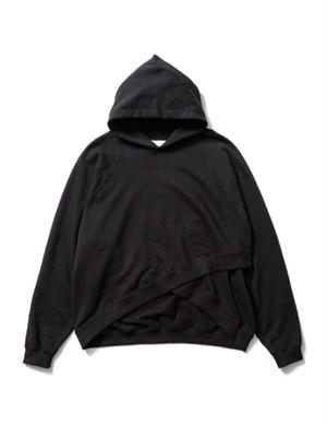BOLERO SWEAT HOODIE -BLACK- / Sasquatchfabrix.