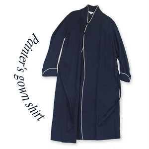 Painter's gown shirt [Navy]