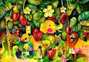 苺祭り[A4ポスター]