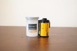 【カラーネガフィルム 35mm】Kodak(コダック)Proimage100 36枚撮り
