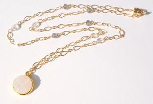Druzy pendant