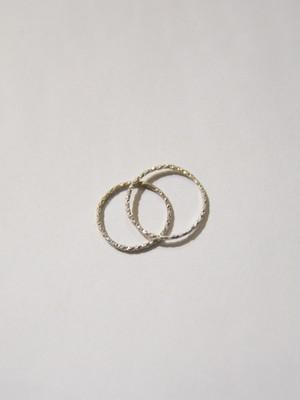 【grün⁺】JASSY RING 1mm SILVER