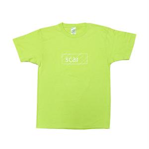 scar /////// OG LOGO TEE (Orange) 6.2oz