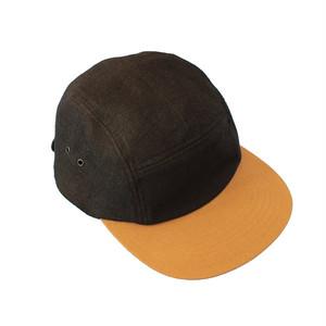 COTTON LINEN JET CAP (COMESANDGOES)
