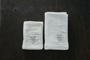 大阪泉州 神藤タオル2.5重ガーゼタオル ホワイト(L)