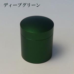 ミニ骨壷With(ウィズ)T 直径25mm×高30mm ディープグリーン【日本製】