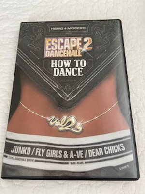 『ESCAPE2 DANCEHALL HOW TO DANCE vol. 2』 (DVD)