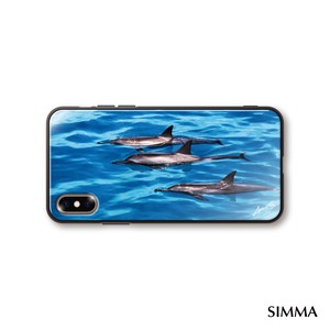 【Dolphins_and_Kauai_Blue】by 小野澤篤人/AMAZONICA iPhoneケース