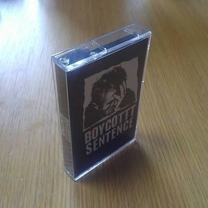 BOYCOTTT SENTENCE demo cassette inc download coupon (self release)