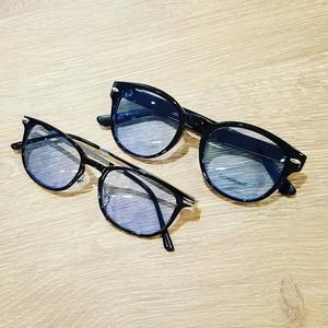 Sunglasses blue lens