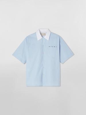 【Marni】コットン ボウリングシャツ