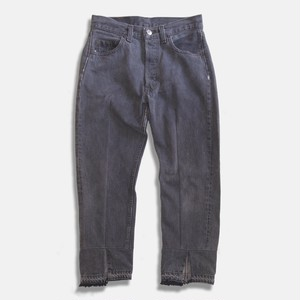 WCH Remake Black 501's Tapered Jeans -B