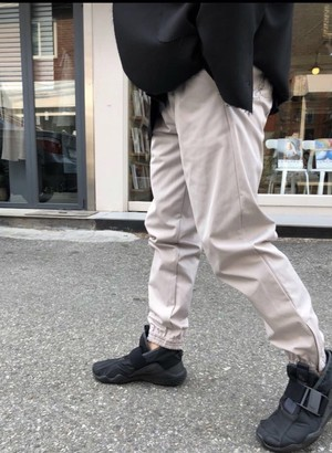 ・Side Zipper Jogger  Black【S】Grey 【M 】