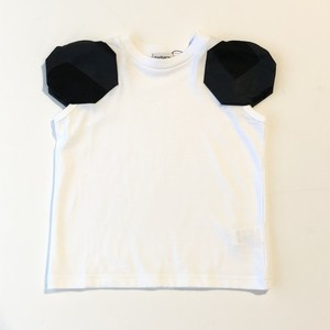 【21SS】フランキーグロウ ( frankygrow ) DISTORTED CIRCLR SLEEVE TEE[F]white‐black×BK Tシャツ トップス