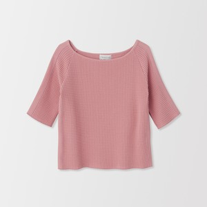 THERMAL BOAT NECK LONG SLEEVE (rose) TNH19100-10