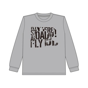 S.A.L STREAMING Type1 Long-Tee  Gray (Normal Ver.)