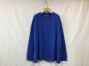 "UNIVERSAL PRODUCTS.""HEAVY WEIGHT L/S TEE BLUE"""