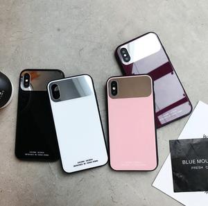 【即納♡】シンプルミラーiPhoneケース 7757