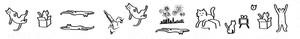 岡崎大樹デザイン 「マスキングテープ」猫