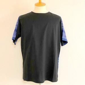 Switch Bandanna Fabric Cut & Sewn Black × Navy