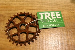TREE BICYCLE CO. LITE SPROCKET Woodgrain