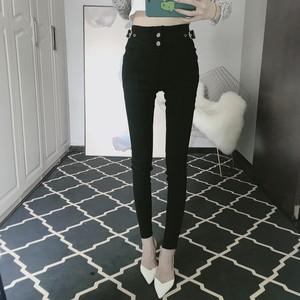 【ボトムス】ファッション気質美脚効果ありタイトパンツ