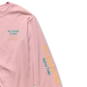 ALL GOOD STORE / AGS LOGISTICS L/S Pink