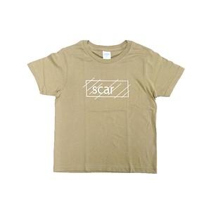 scar /////// OG KIDS TEE (Sand Khaki) 5.0oz (140サイズ)