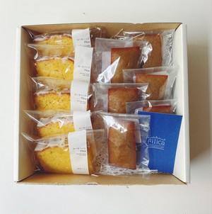 国産レモンのウィークエンドとフィナンシェの焼き菓子BOX