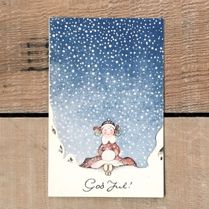 クリスマスカード「Einar Nerman(エイナル・ネールマン)」《200222-01》