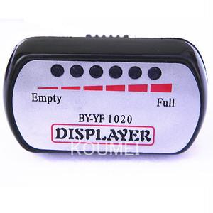 小型LED5段階電圧計