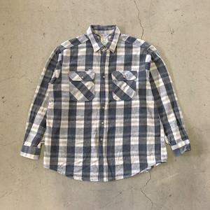 "90's ""Carhartt"" Heavy Flannel Shirt"