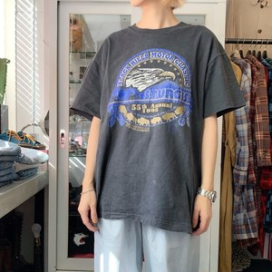 90's PRINT TEE SHIRTS EAGLE MADE IN U.S.A. アメリカ製